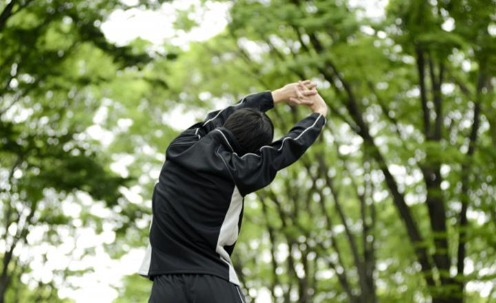 腕振り体操